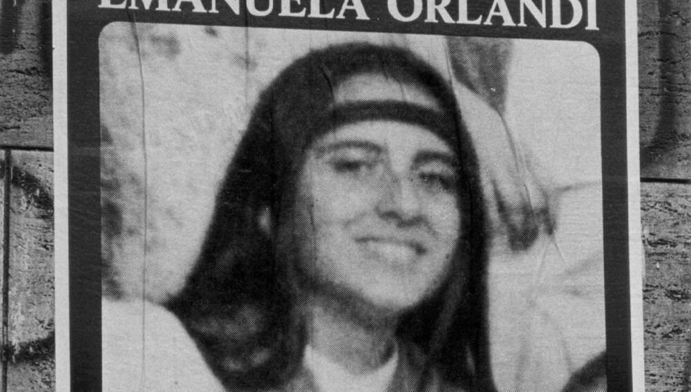 Cartel de la desaparición de Emanuela Orlandi