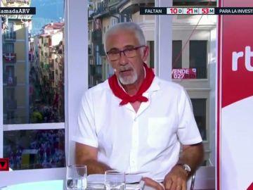 Javier Solanos, presentador de TVE