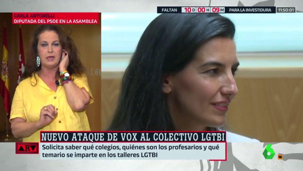 Carla Antonelli y Rocío Monasterio