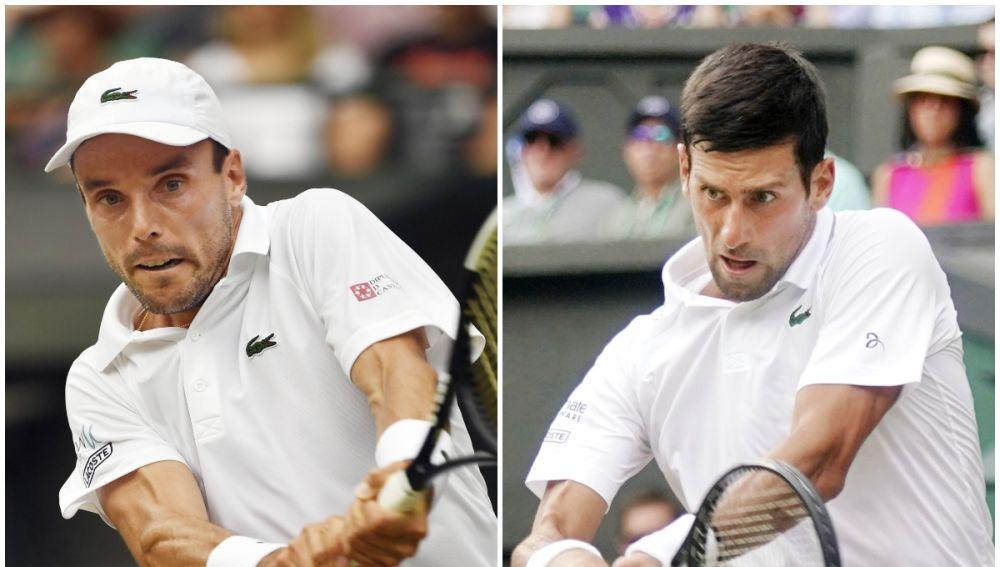 Bautista y Djokovic
