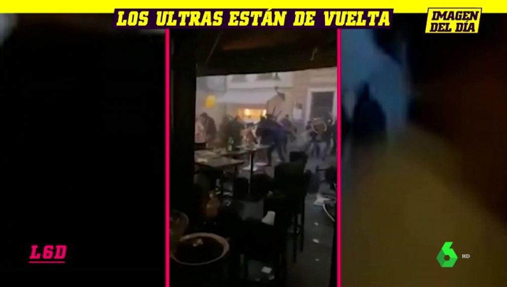 Una brutal pelea entre ultras en Bratislava acaba con 80 detenidos