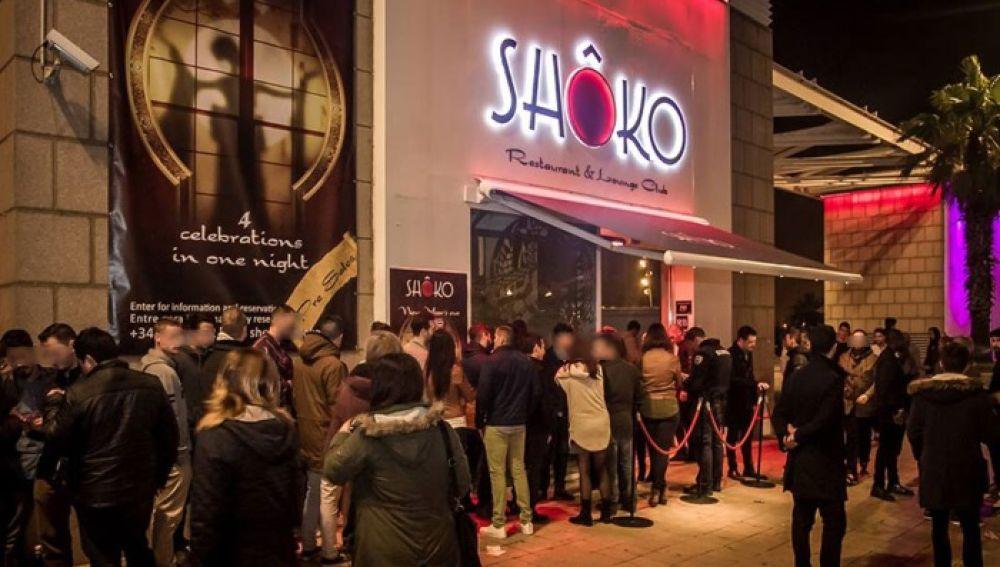 Discoteca Shoko de Barcelona
