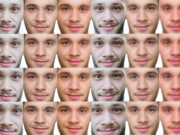 Los deepfakes se crean cargando imágenes para que un software pueda imitar sus rasgos