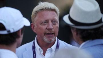 Boris Becker, en Wimbledon