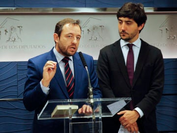 Francisco de la Torre y Toni Roldán en una fotografía de archivo.