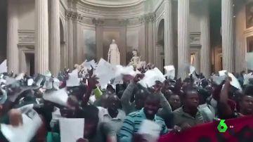 Piden en París una regularización de la situación de los inmigrantes indocumentados