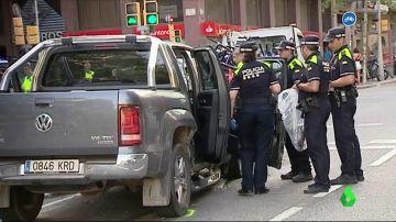 Detienen a un conductor drogado tras herir a siete personas en Barcelona