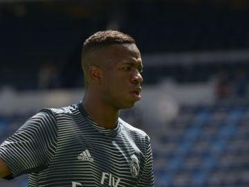 Vinicius, con el Real Madrid