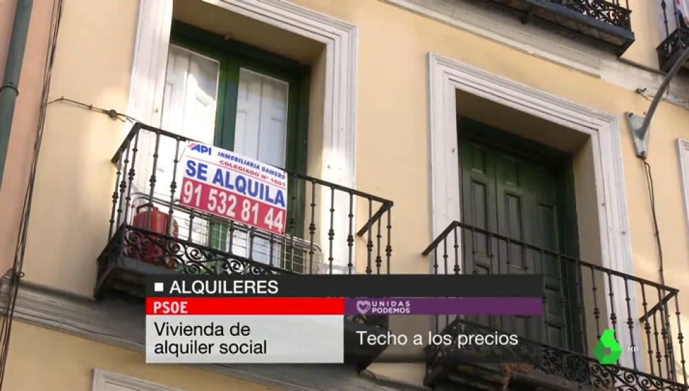 De la reforma laboral al precio del alquiler: las posiciones enfrentadas de PSOE y Podemos en propuestas programáticas