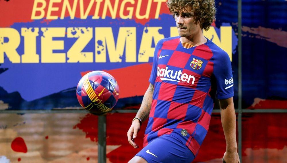 Griezmann es presentador de forma oficial como jugador del FC Barcelona