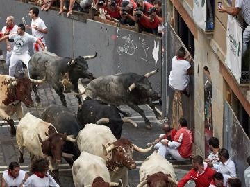 Octavo encierro de San Fermín 2019