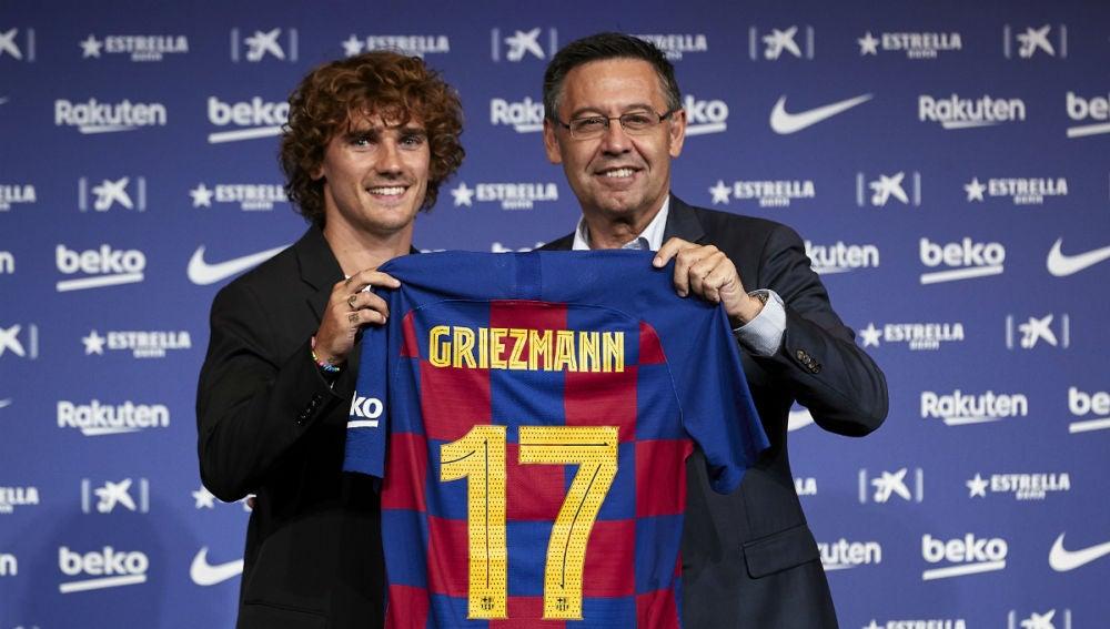 Griezmann lucirá el 17 del Barcelona