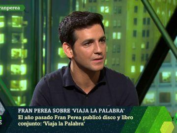 El cantante y actor Fran Perea