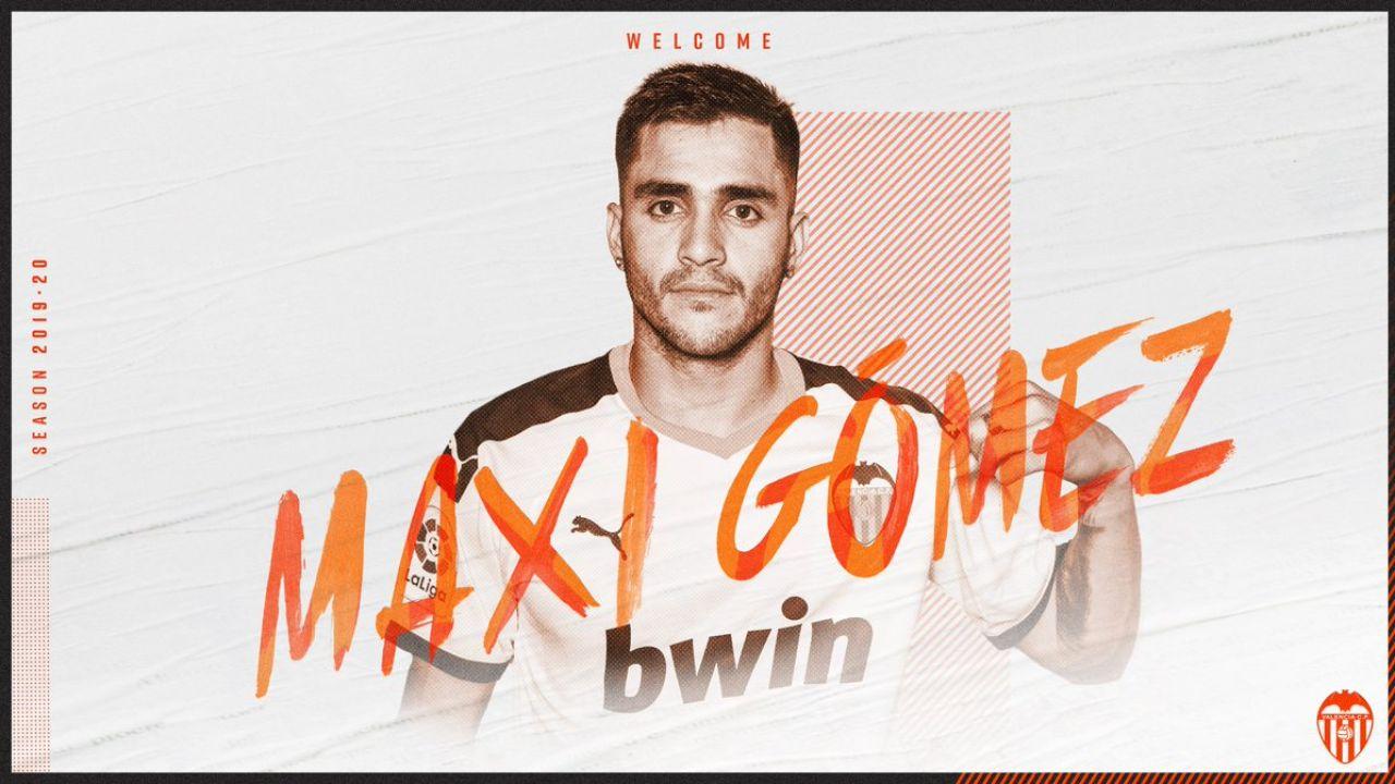 Maxi Gómez, al Valencia