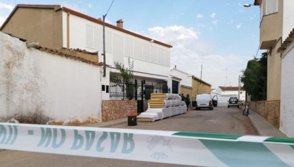 Calle de los hechos en Casas de Benitez, Cuenca