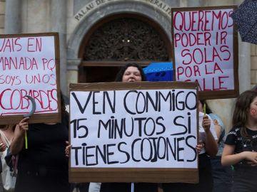 Protestas contra la Manada de Manresa