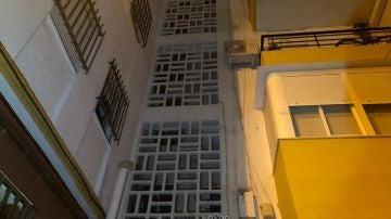 Fachada de un edificio en el barrio de la Macarena, Sevilla