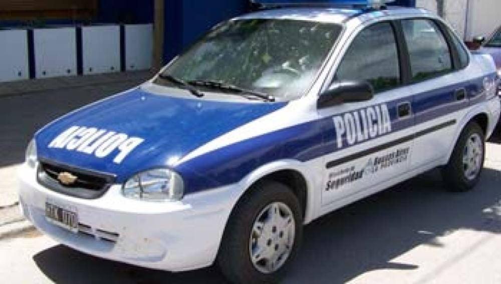 Coche de la Policía argentina.