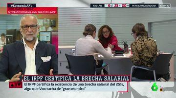 ¿Por qué existe la brecha salarial entre hombres y mujeres?: el economista José María O'Kean nos da las claves