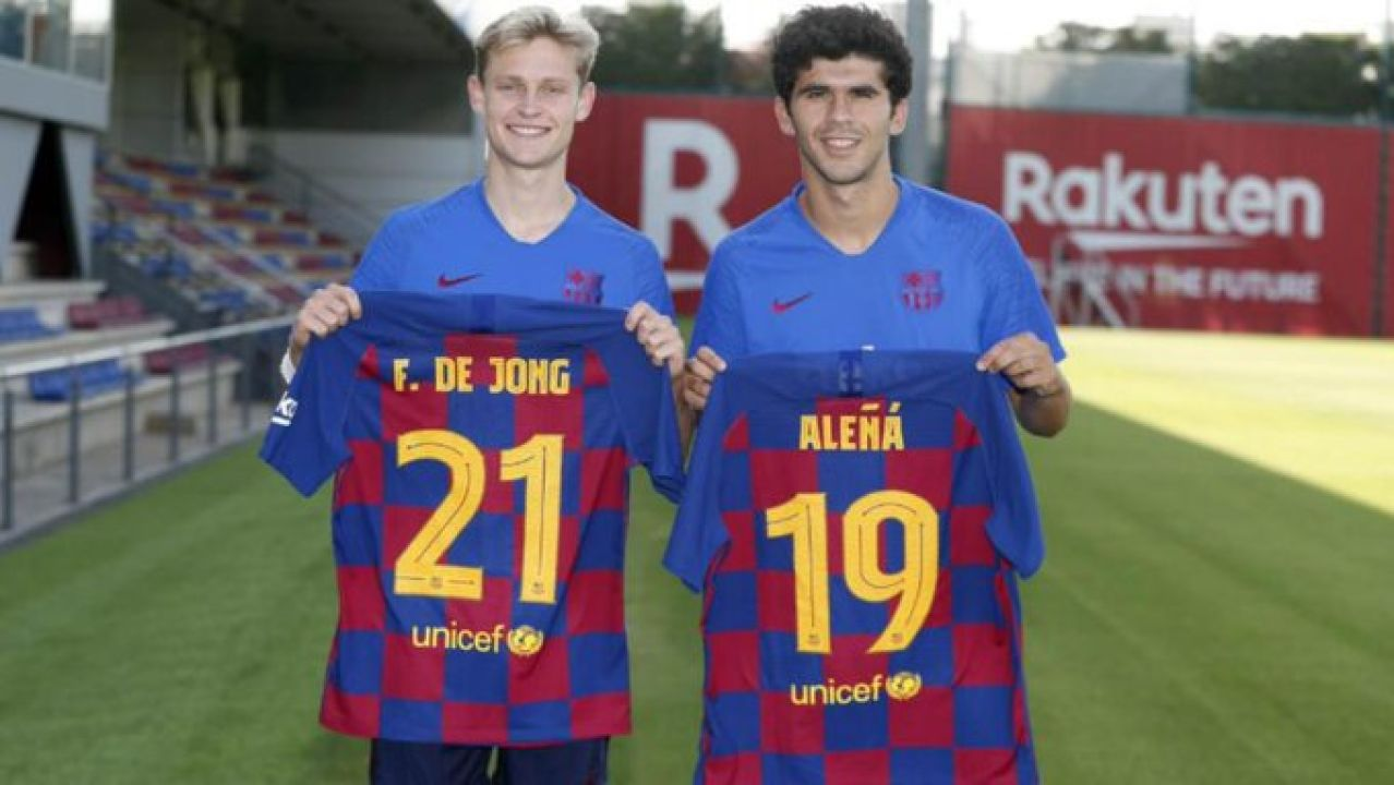 De Jong, con Aleñá