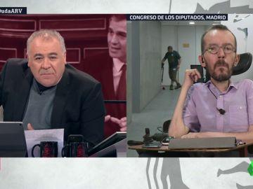"""Pablo Echenique: """"Las competencias que nos da el PSOE están vacías y no permitirían mejorar la vida de la gente"""""""