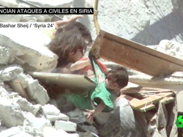 Denuncian ataques a civiles en Siria