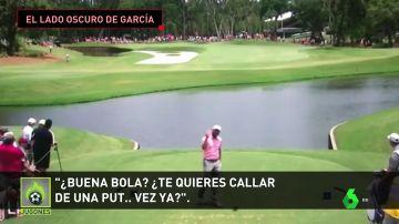 Desde insultar a un joven aficionado hasta tirarle un 'driver' a su hermano: las vergonzosas salidas de tono de Sergio García
