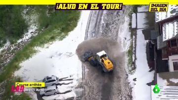 Una granizada obliga a parar la etapa 19 del Tour de Francia: Bernal gana y arrebata el amarillo a Alaphilippe