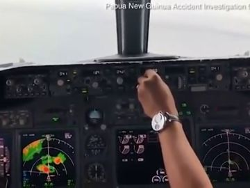 El angustioso vídeo que recoge desde la cabina de un avión los últimos segundos antes de estrellarse