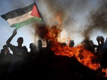 Imagen de las protestas en Palestina