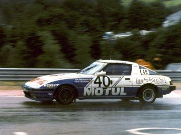 Mazda RX7 Spa 24h 1981