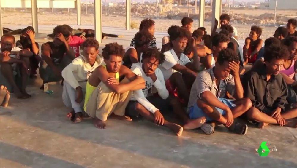 Supervivientes del peor naufragio en el Mediterráneo