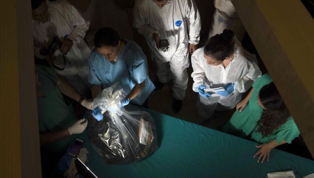 Huesos encontrados en El Vaticano
