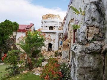 Imagen de los estragos de los terremotos en Filipinas