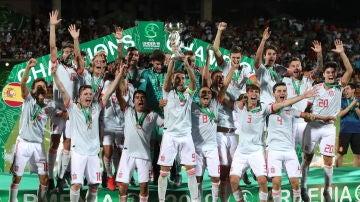 La selección española sub 19 se proclama campeona de Europa