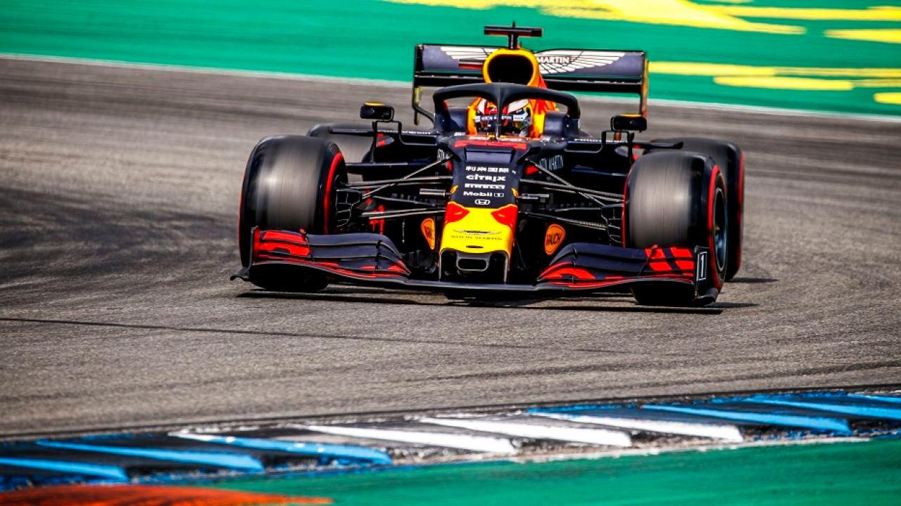 Max Verstappen, ganador del GP de Alemania de F1