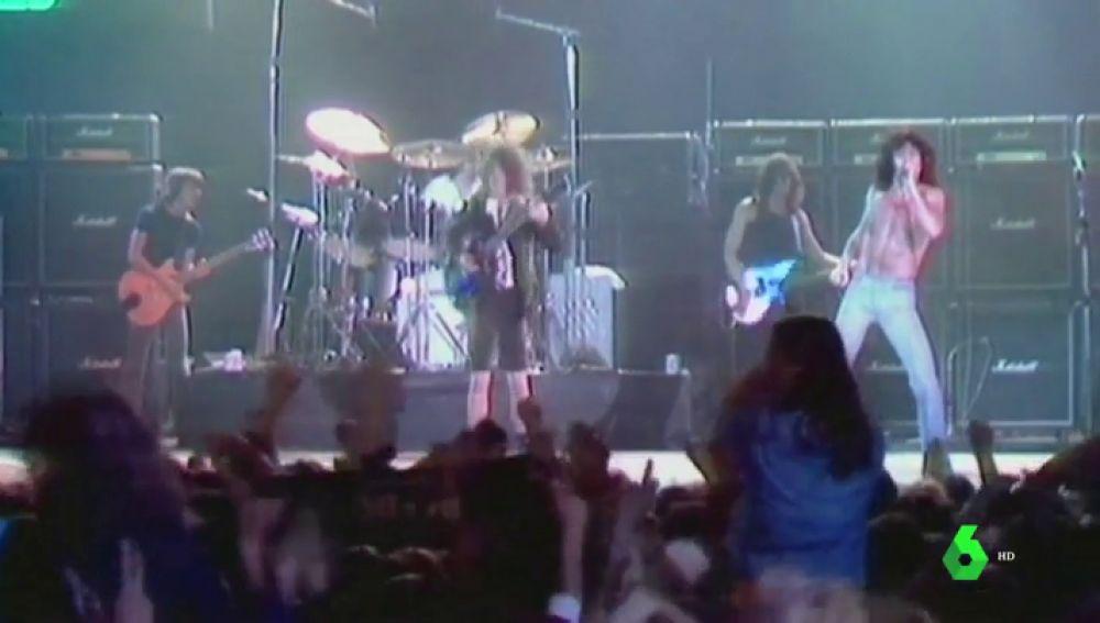 Imágenes inéditas de AC/DC