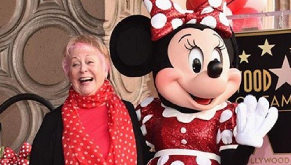 Imagen de archivo de Russi Taylor, la actriz que dio voz a Minnie Mouse