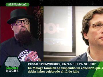 César Strawberry en laSexta Noche