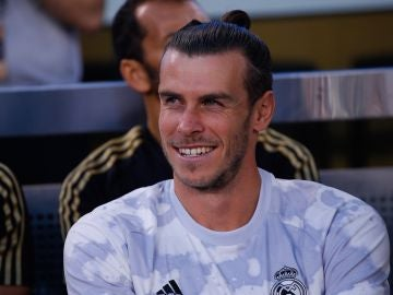 Gareth Bale, durante un partido del Real Madrid