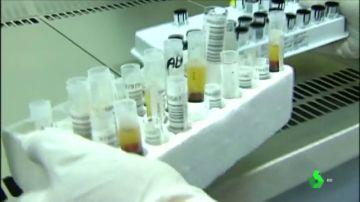 Análisis en un laboratorio