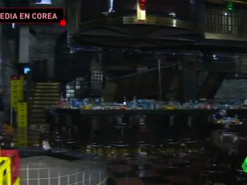 Ocho deportistas heridos tras el derrumbe del suelo de un club nocturno durante el Mundial de Natación