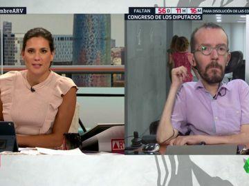 """Pablo Echenique: """"El PSOE sigue pidiendo el apoyo de PP y Ciudadanos, que son aliados de Vox en comunidades y ayuntamientos"""""""