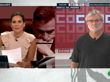 """Fernando Lezcano (Comisiones Obreras): """"Ir a unas nuevas elecciones propiciará que las fuerzas de extrema derecha ganen ventaja"""""""