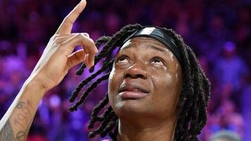 Erica Wheeler, dedicándole el MVP a su madre