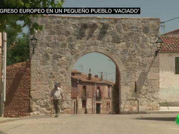 Todo preparado en Villahoz, el pueblo de 150 habitantes dispuesto a frenar el vaciado de la España rural