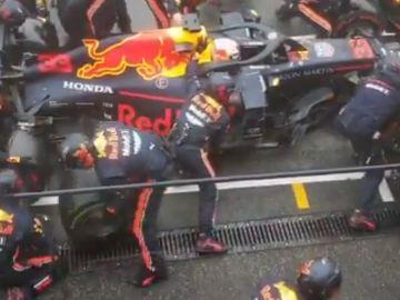 Pit lane de Red Bull