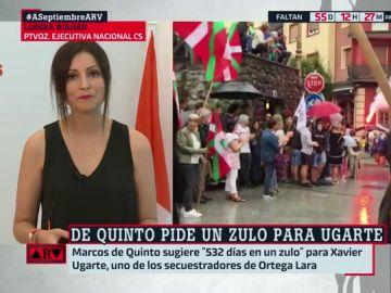 """Lorena Roldán, sobre las declaraciones de Marcos de Quinto: """"Pretendió mostrar una indignación que comparten las víctimas"""""""