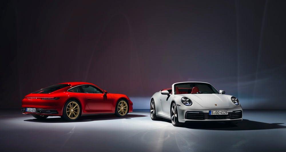 Porsche 911 Carrera Coupé y Cabriolet