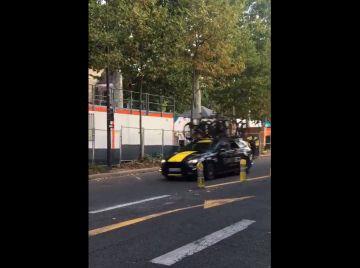 Radar en París, en el Tour de Francia